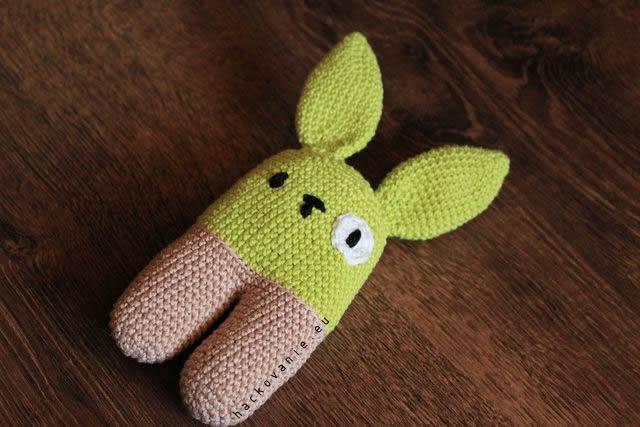 hacovane hracky amigurumi zajacik