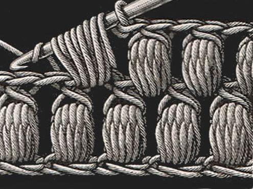 puff stitch vzor puff stitch diagram