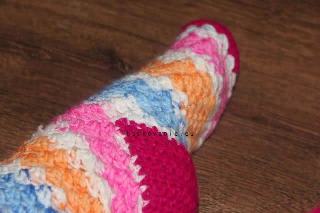 damske hackovane ponozky