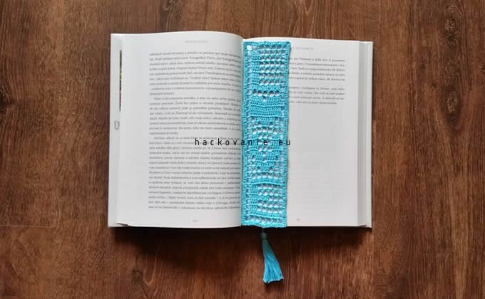 hackovana zalozka do knihy LOVE