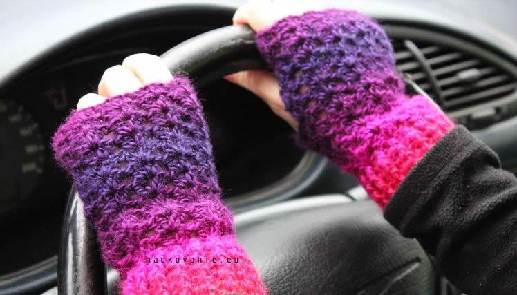 hackovane rukavicky