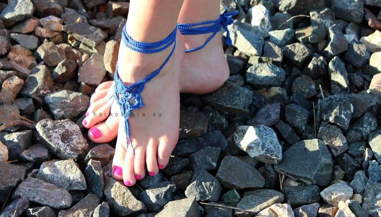 postup na hackovanie barefoot sandals