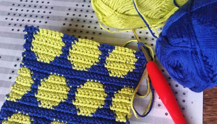 gobelinove hackovanie tapestry crochet postup na hackovanie