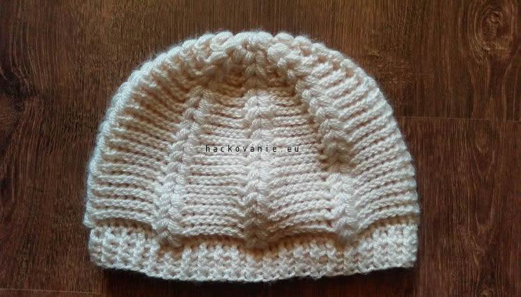 puff stitch ciapka navod