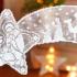 Háčkovaná vianočná hviezda do okna