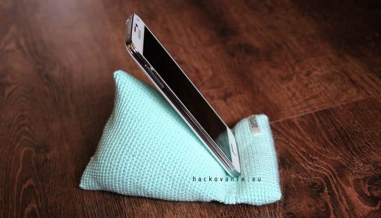 hackovany stojan na mobil