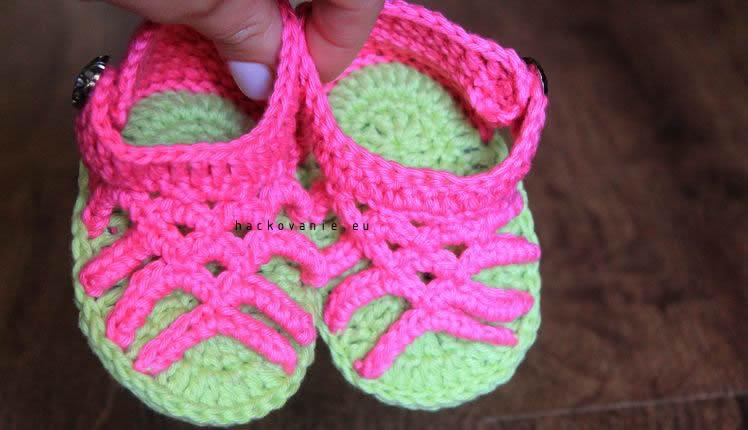 dievcenske sandalky hackovane