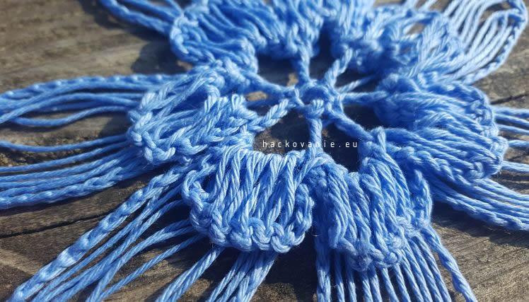 hackovany kvet haripin lace navod na hackovanie
