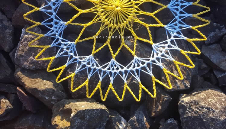 hairpin lace navod na hackovanie mala kruhova decka