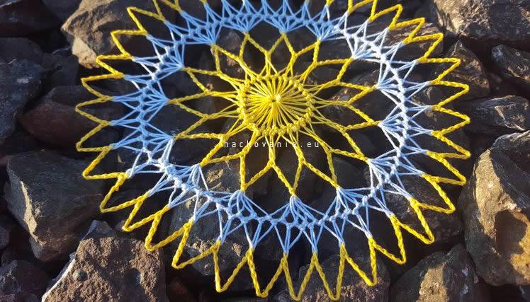 hairpin lace vzdusne hackovanie postup hackovania decky
