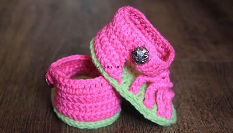 handmade hackovane sandalky na leto