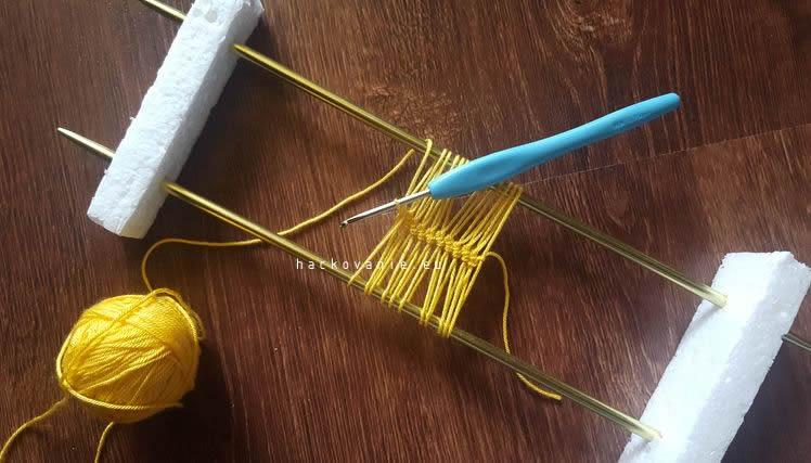 postup na hackovanie hairpin crochet hackovanie na u-ihlici