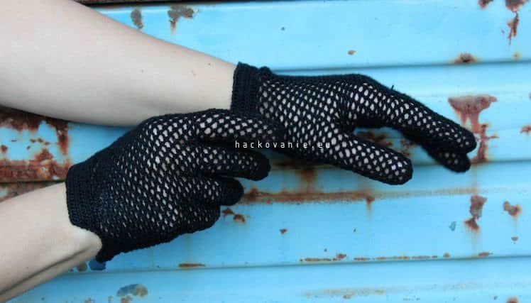 ako uhackovat damske rukavicky