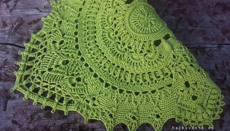 Marion by Grace Fearon crochet doily