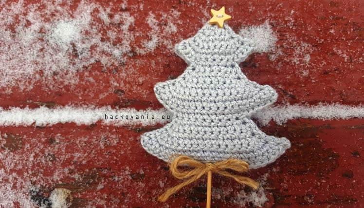 vianocna dekoracia stromcek navod na hackovanie