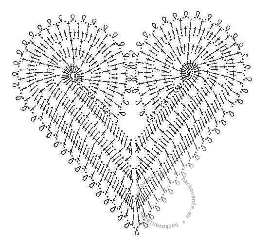 hackovane srdce predloha na hackovanie