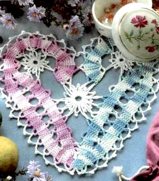 srdce flanderska cipka navod na hackovanie bruges lace heart