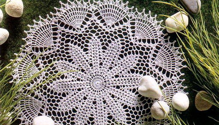 hackovana decka Emily crochet doily pattern