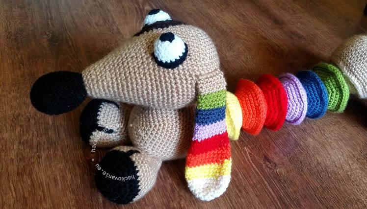 hackovana hracka hackovane zvieratko hackovany psik navod