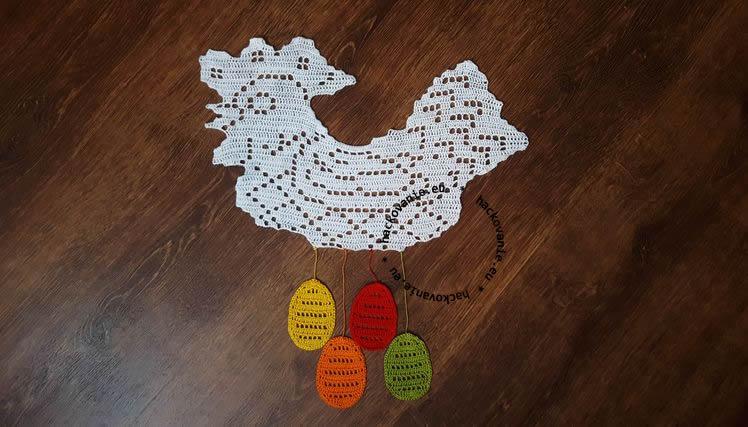 hackovana velkonocna dekoracia na zavesenie sliepka navod na hackovanie