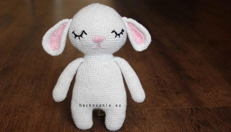 hackovane zvieratko zajacik